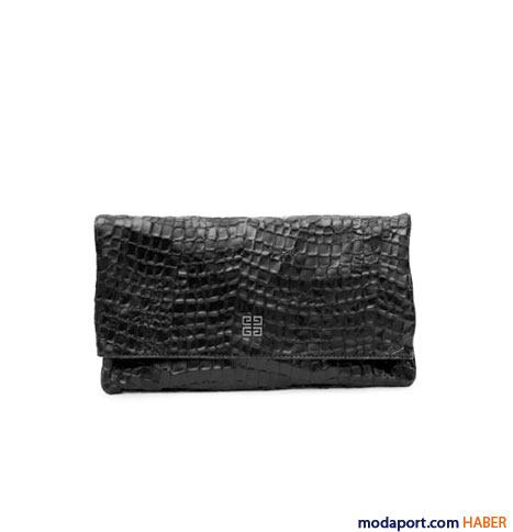 Givenchy - Timsah baskılı el çantası