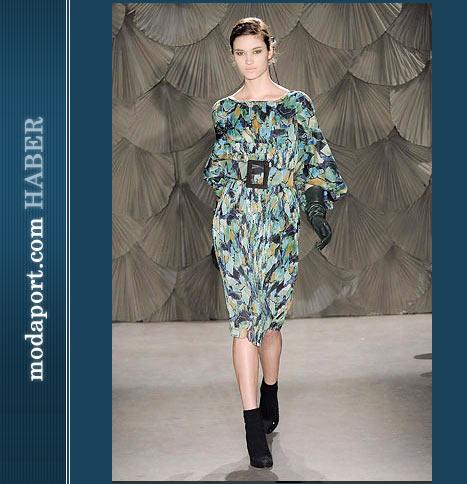 Malandrino Kemerli Elbise