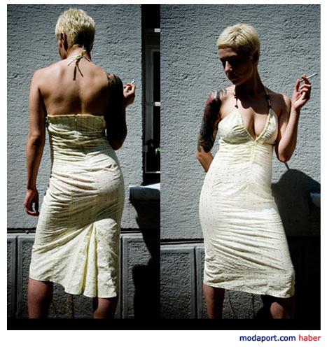 The Rednails'ten şık bir elbise