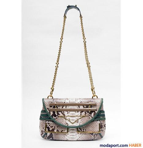 Chloé - Yılan derisi omuz çantası