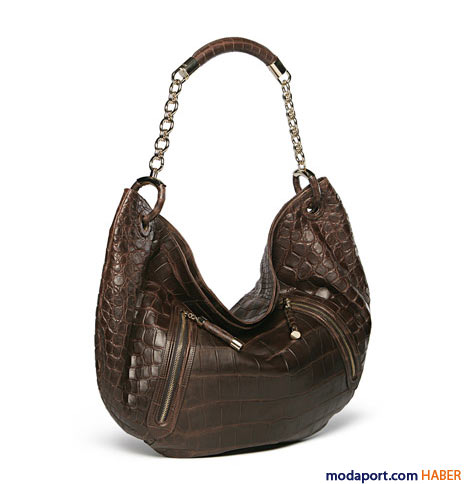 Bally - Timsah derisi çanta