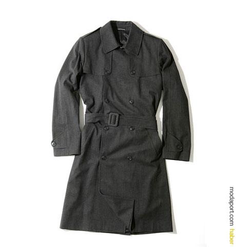 Agnès B. Homme füme renkli trenckot / Fiyatı: 1015$