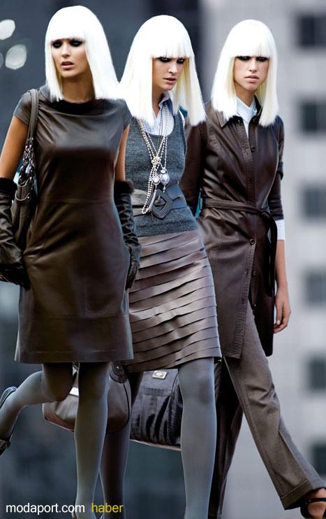 Desa 2008 Sonbahar 2009 Kış Koleksiyonu'nda birbirinden şık elbise, etek, deri çanta, bluz ve gömlek modelleri yer alıyor