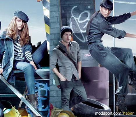 DKNY Jeans'in yeni koleksiyonunda kot pantalonlar, ceketler, gömlek ve elbiseler yine vazgeçilmezlerden...