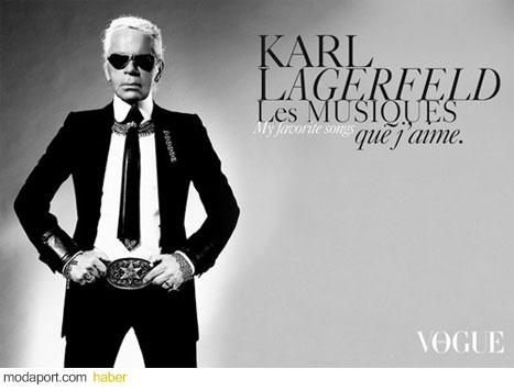 Ünlü moda tasarımcısı Karl Lagerfeld