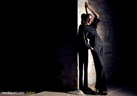 Siyahın asaleti.. Siyah Bluz ve Pantalon