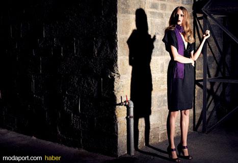 Park Bravo Siyah Gece Elbisesi Modeli