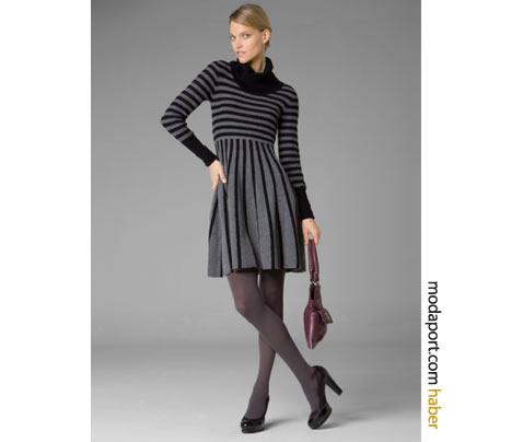 BCBG Max Azria'nın bu örgü elbisesi, işyerinde giymek için ideal