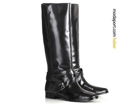 Miu Miu metal tokalı çizme