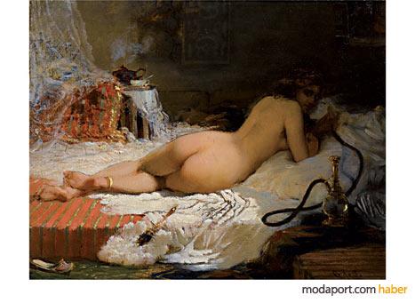 Harem Güzeli - Gilbert Alexandre De Severac (1834-1897) - Bali Müzayede Koleksiyonu