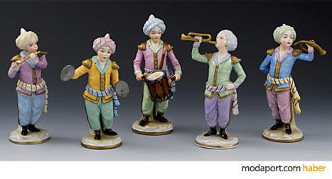 Sitzendorf Osmanlı Müzisyen Bibloları