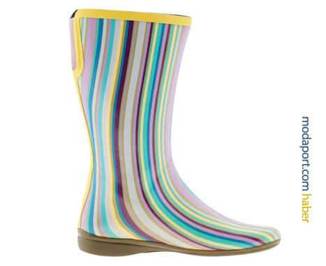 Rengarenk Sporto plastik yağmur botu