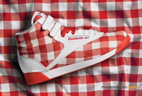 Pötikareli spor ayakkabı, Reebok'ın sevimli modellerinden