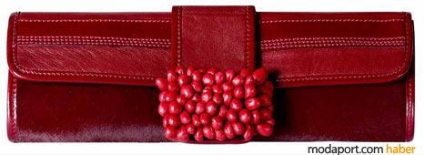 Malandrino boncuklu el çantası