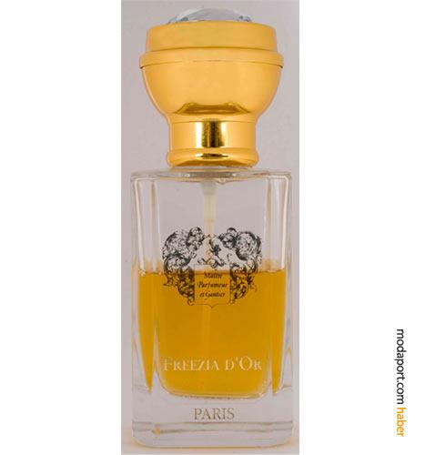 MPG Freezia D'or, Harvey Nichols'ın iki numaralı parfümü. Frezya, neroli, ylang ylang, yasemin, süsen, sandal ağacı kokularından oluşuyor.