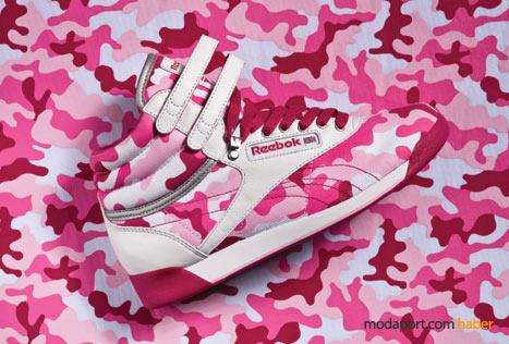 Bu spor ayakkabılarla, pembe pamuk şekeri içinde kamufle olunabilir!