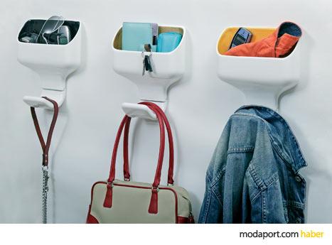 i-deco katılımcılarından tasarımcı Luca Nichetto'nun askı kutuları