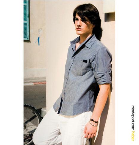 FTS'nin erkek koleksiyonundan gömlek ve pantolon