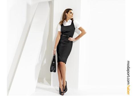 Jurney'in yazlık elbiselerinde jile modelli elbise
