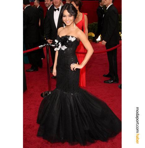 Vanessa Hudgens Marchesa abiye elbise ve Cathy Waterman mücevherlerle