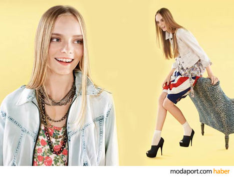 Topshop Hope and Glory'den bir kombinasyon