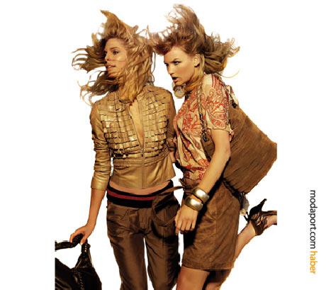 Desa giyim koleksiyonunda hafif deri ceketlerde sıradışı tasarımlar sözkonusu. Süet ise çantadab, ayakkabıya, hatta bermudaya kadar kullanılıyor