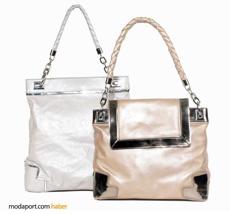 Desa'nın inci tonlarındaki yazlık deri çantaları da anneler günü alternatiflerinden..