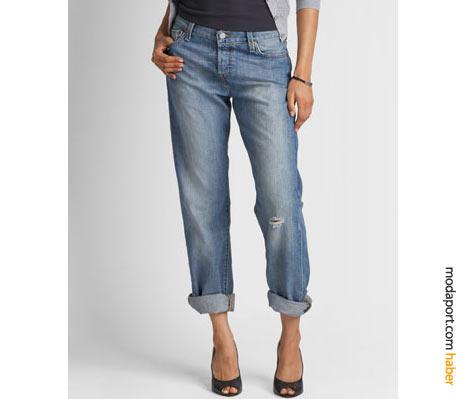 Levis 501 boyfriend jeansin ilginç yanı, topuklu ayakkabılarla güzel durması..