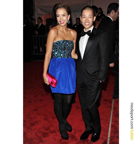 Jason Wu büstiyerli gece elbisesi