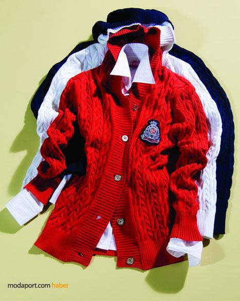 U.S. Polo Assn.'in 2009 ilkbahar yaz koleksiyonundan canlı renkli triko hırkalar, gömlekler, anneler günü hediyesi alternatifleri