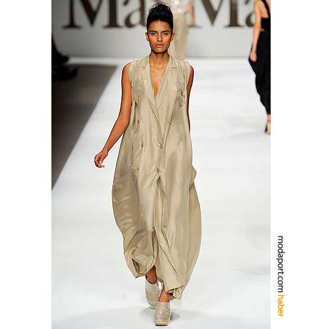 MaxMara yazlık elbise, dev bir yelek görünümünde