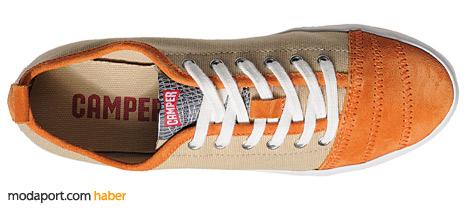 Turuncu erkek sneakerın fiyatı 111,30 TL