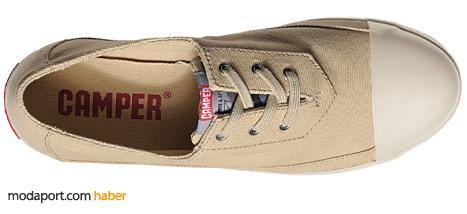 Camper'ın organik kumaştan yazlık sneaker ayakkabısı 111,30 TL