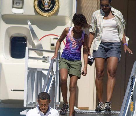 Konu Michelle Obama olunca başkan teferruattır