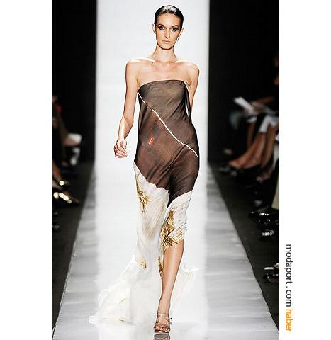 Chado Ralph Rucci'den hafif bir yazlik gece elbisesi