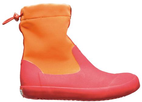 Yağmurlu günler için Camper renkli lastik çizme 145TL.