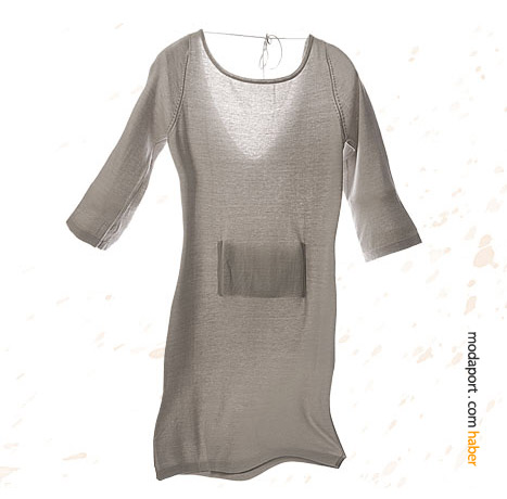 Cashmere In Love'da kaşmir elbise ve tunikler de bulunuyor..