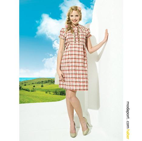 Saf pamuktan yazlık hamile elbisesinin GeBe sitesindeki fiyatı şu an itibarıyla 74 TL