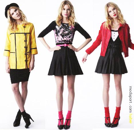 Target'ta satılacak kıyafetlerden bazıları..