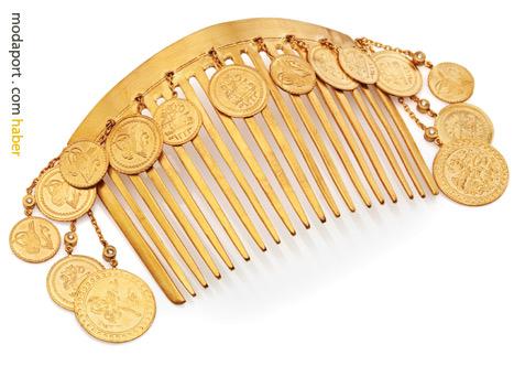 Koçak Gold'un 22 ayar altın markası Allure, geleneksel paralardan bir koleksiyon oluşturulmuş..