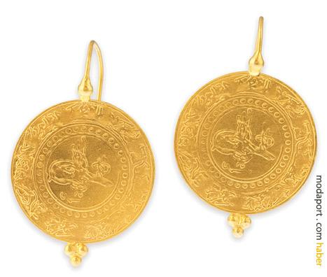 Tuğralı altın paralar, kulağınıza küpe olsun