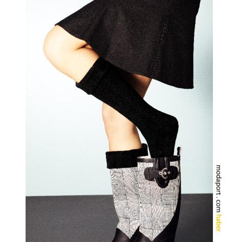 Tchibo lastik çizme çorabı