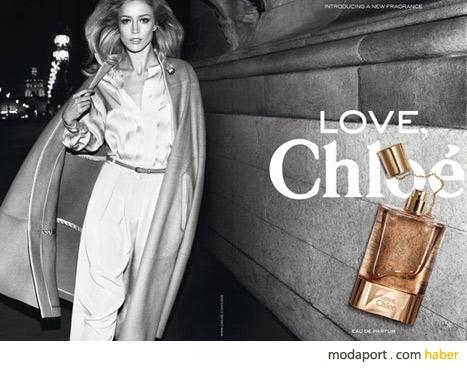 Love Chloe parfümü, kokusundan önce reklamıyla gündeme geldi..