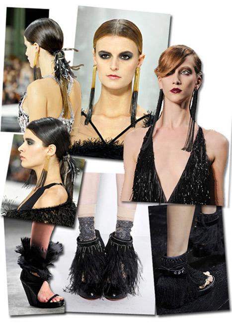 2011'de püskül modası farklı aksesuarlara sıçrayacak..
