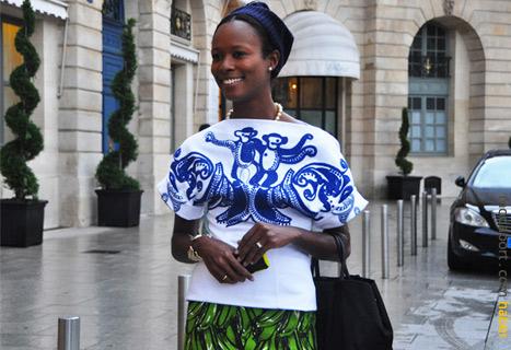 Afrika'nın neşesini yaşatan bir stil.