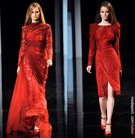 Elie Saab Haute Couture Defilesinden Abiye Elbiseler