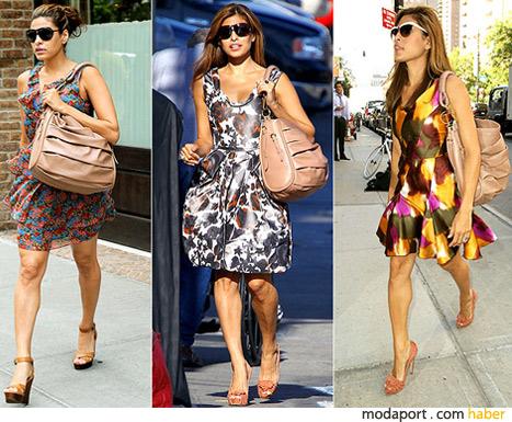 Eva Mendes'in Dior çantası
