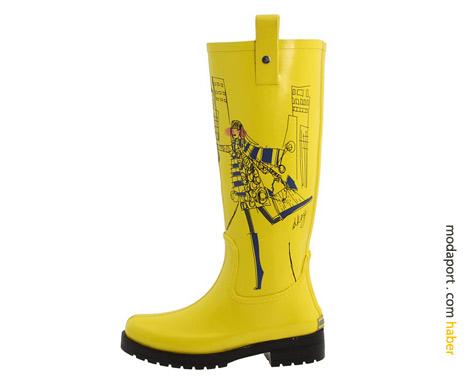 DKNY yağmur çizmesi