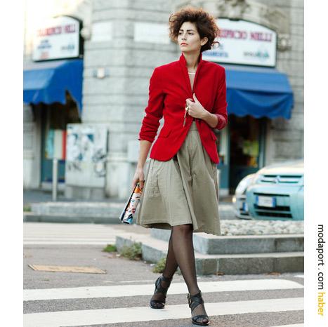 Milano sokak modasından: Feminen stil