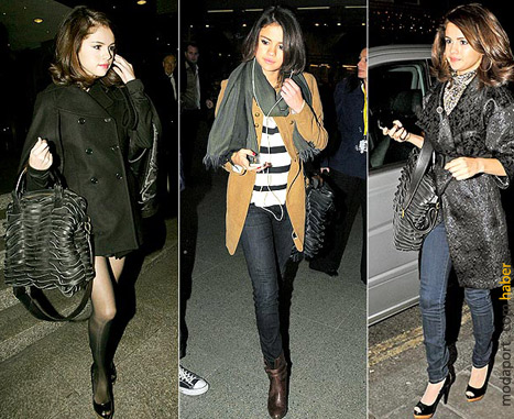 Disney ünlülerinden Selena Gomez'in kıyafetleri de stil sayfalarında..